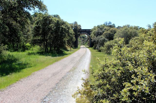 Vía verde de la jara - Entorno rural